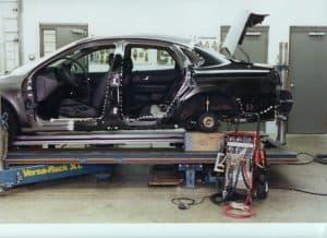 Autobody spot welding photo