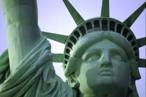 Picture of Statue of Liberty illustrating Architectural Spot Welding Liberty article